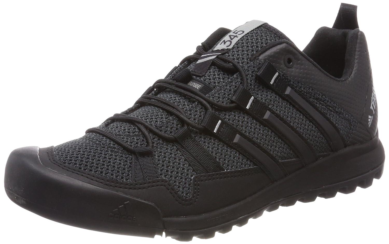 Adidas Terrex Solo, Zapatillas de Cross para Hombre 48 EU|Gris (Dark Grey/Core Black/Ch Solid Grey)