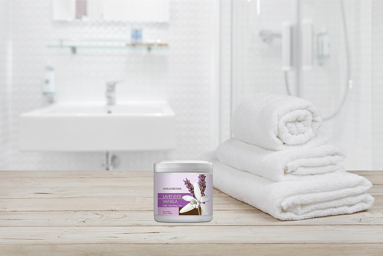 Amazoncom SMELLS BEGONE Air Freshener Odor Absorber Gel Absorbs - Bathroom odor eliminator