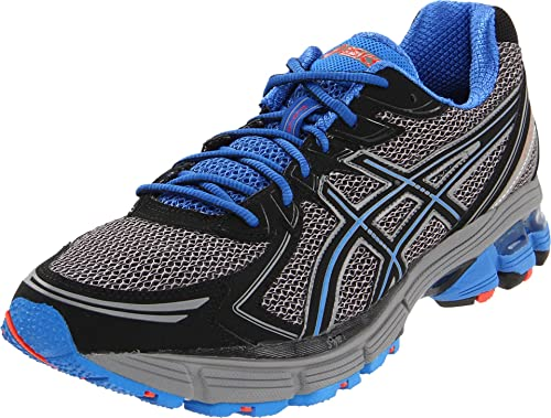 43a6a2621a382 Amazon.com   ASICS Men's Gt-2170 Trail Running Shoe, Grey/Black/Blue ...