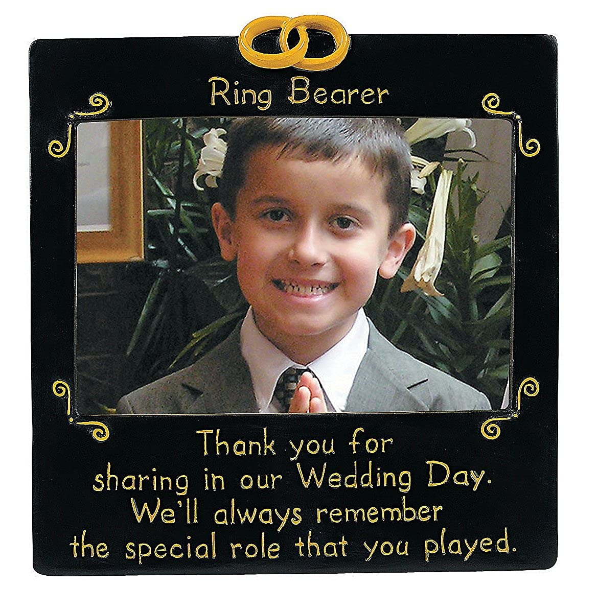 Ring Bearer Photo Frame - Wedding Supplies & Wedding Party Gifts ...