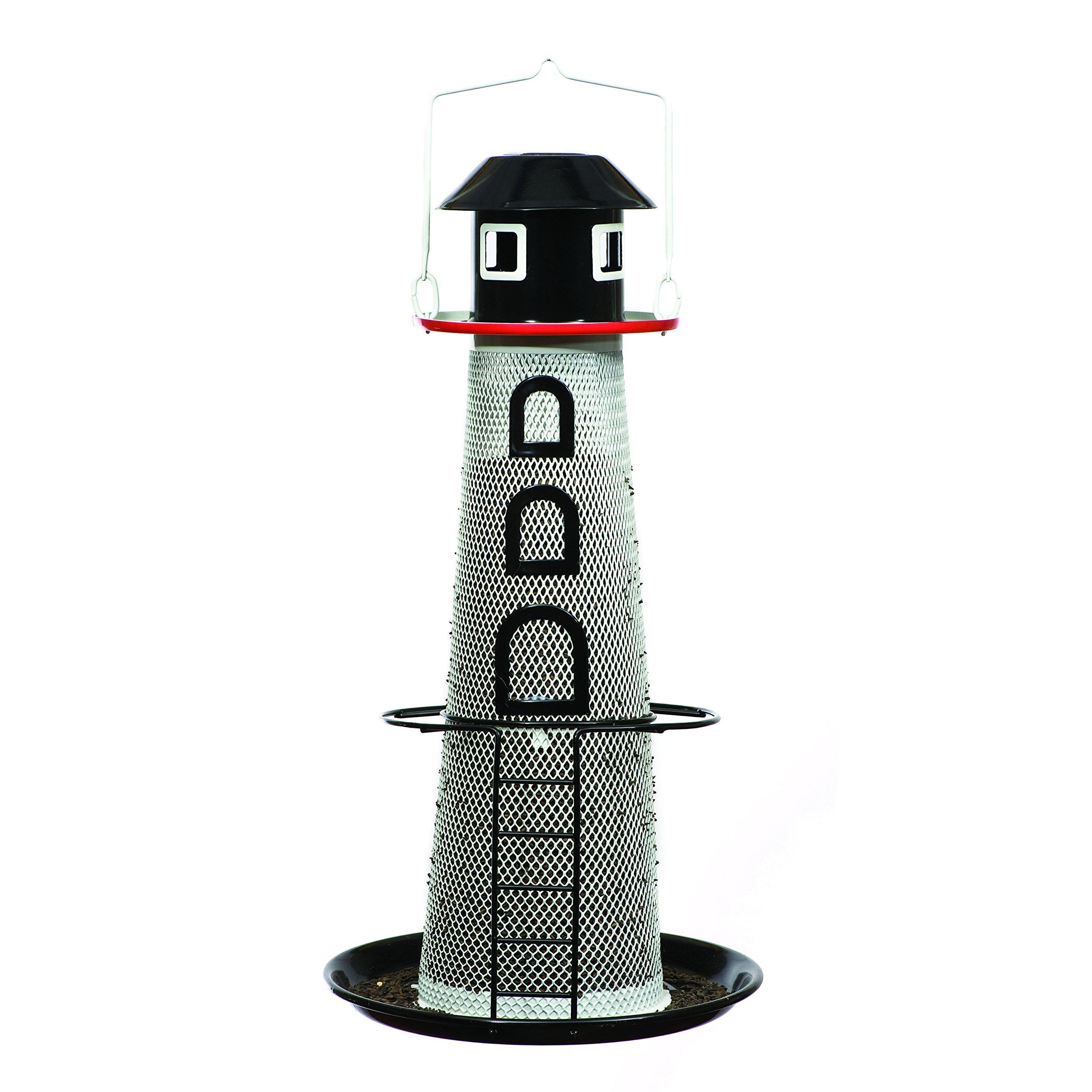 Perky-Pet No/No Solar Lighthouse Finch Bird Feeder