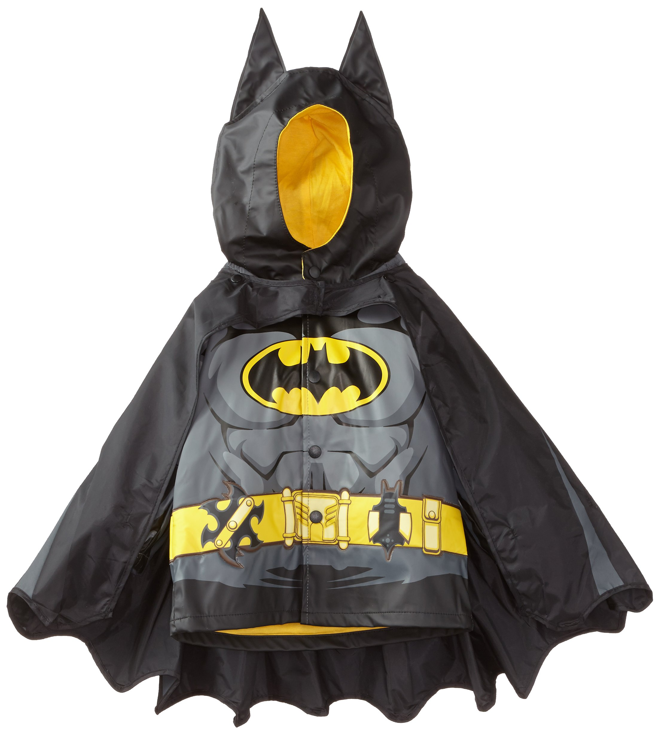 Western Chief Kids D.C. Comics Character lined Rain Jacket, Batman Everlasting, 4T by Western Chief