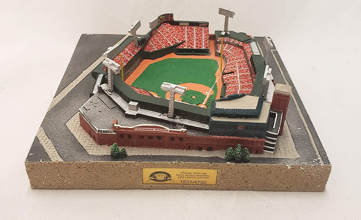 Boston Red Sox Fenway Park Gold Series Stadium Replica