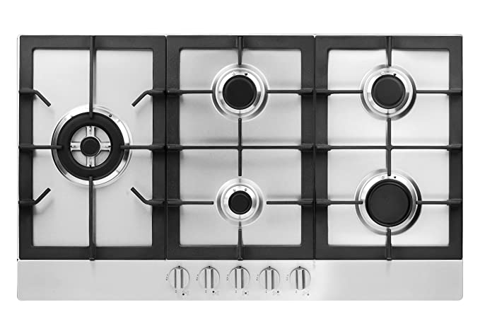 Amazon.com: Fagor fa-950sltx 5-burner Gas 86,36 cm Cooktop ...
