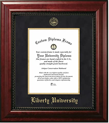 Amazon.com - Liberty University Official Diploma Frame (14 X 17 ...