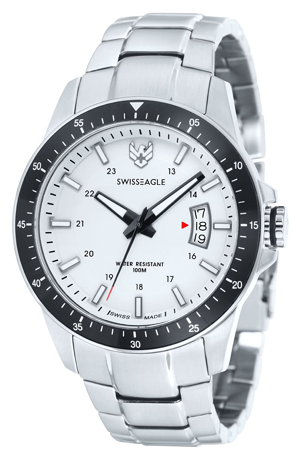 Swiss Eagle SE-9032-22 Harrenarmbanduhr