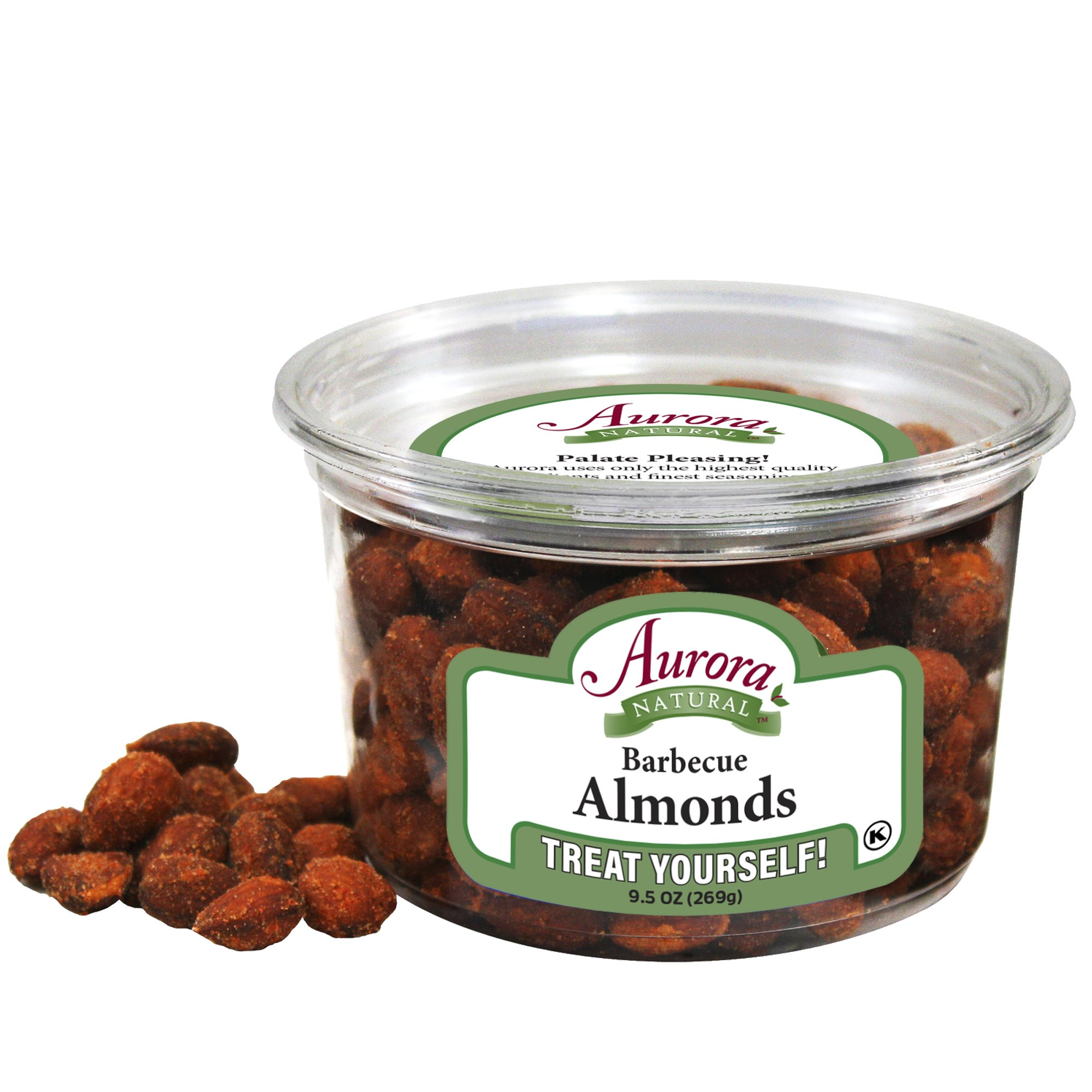 Aurora Natural Products Bib Almonds, 9.5 Ounce