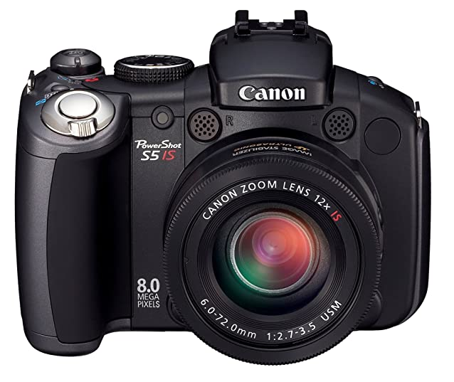 Canon PowerShot Pro Series S5 IS 8. 0MP Digital Camera with 12x Optical Image Stabilized Zoom (OLD MODEL) Digital SLRs at amazon