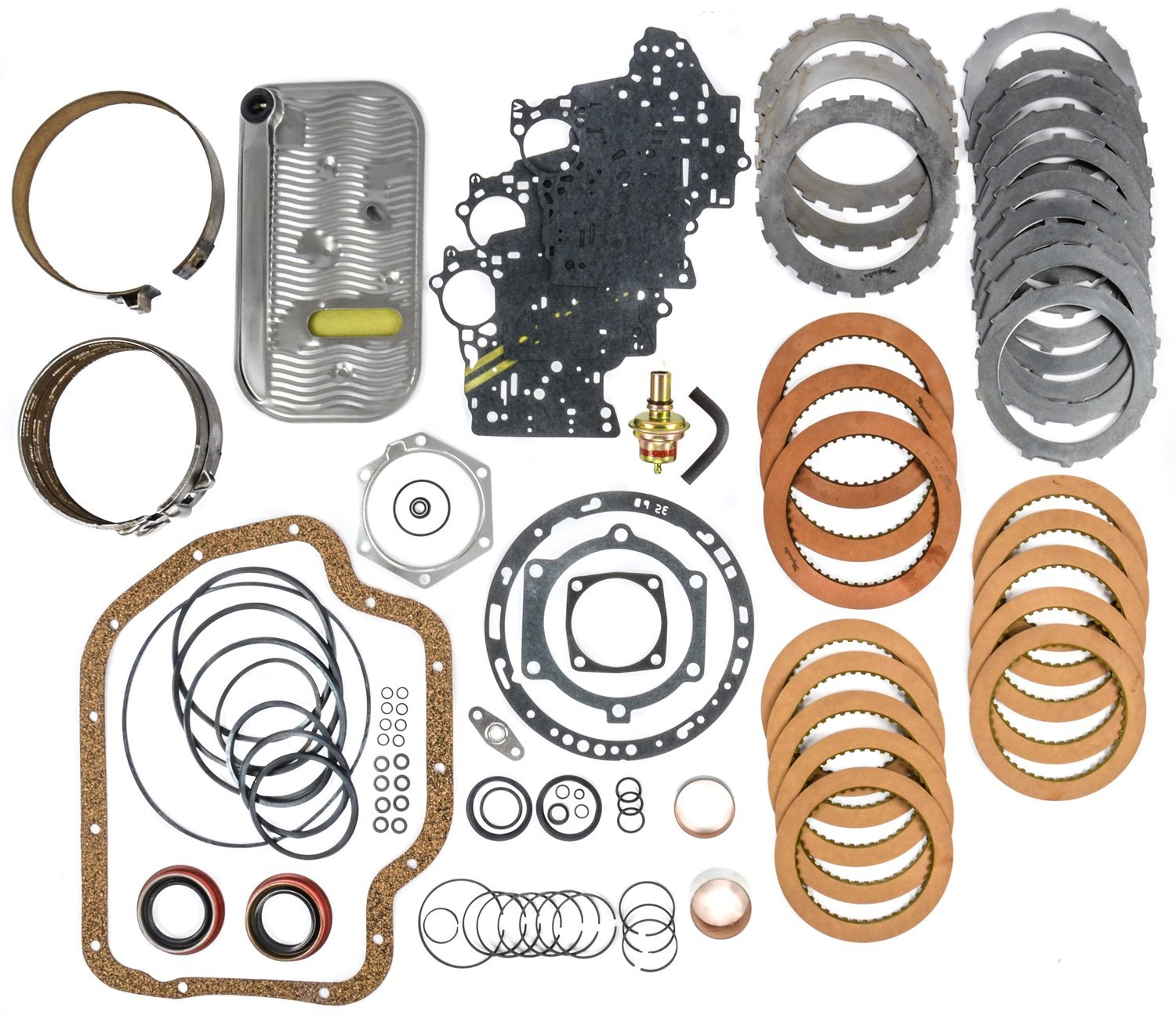 JEGS Performance Products 62014 Transmission Rebuild Kit 1965-1987 GM TH-400 Non