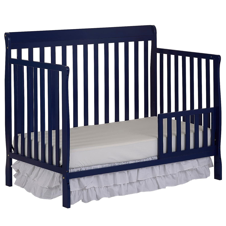 Amazon Dream On Me Universal Convertible Crib Toddler Guard Rail Pearl White Baby