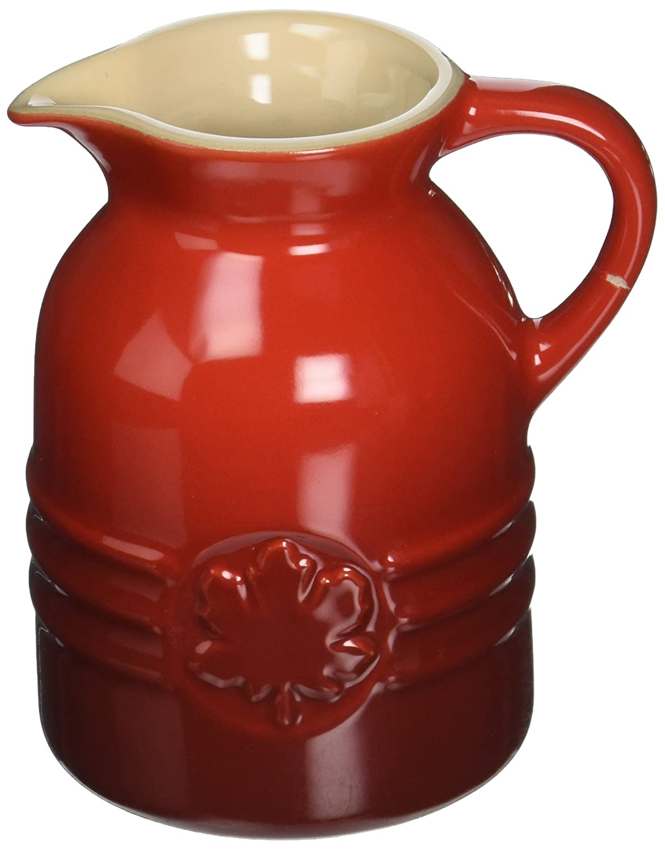 Le Creuset Stoneware 8-Ounce Syrup Jar Cerise PG1085-0567