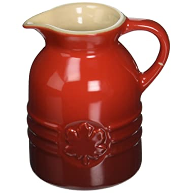Le Creuset Stoneware 6-Ounce Syrup Jar, Cerise (Cherry Red) - PG1085-0567