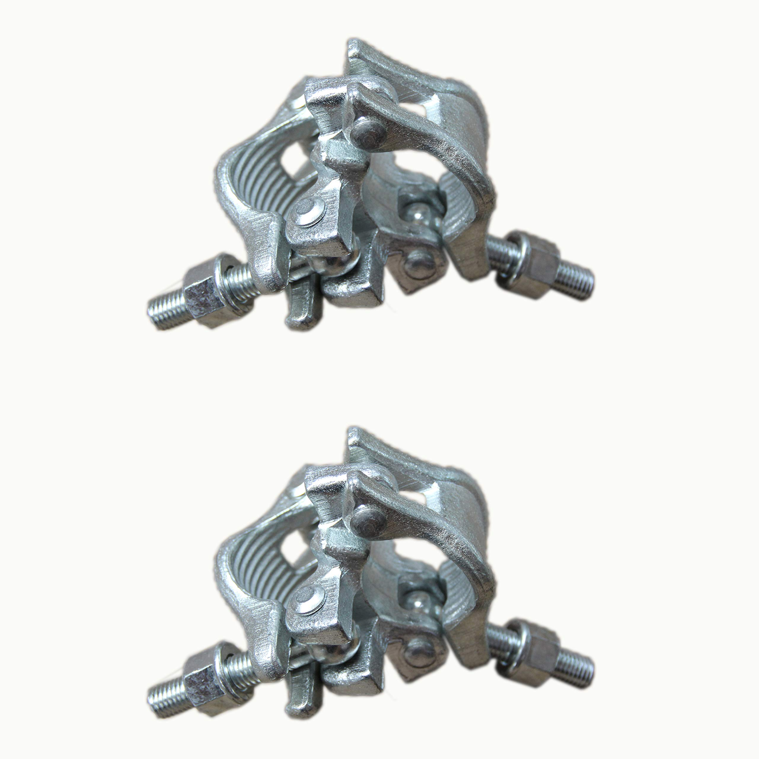 Fixed Right Angle Scaffolding Clamps 2 pcs Brand New Prisms