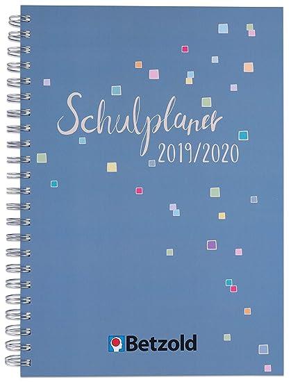 Betzold 758672 - Agenda escolar de diseño 2019/2020, anillas ...