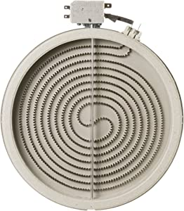 """Edgewater Parts WB30T10136, AP4363599, PS2339867 8"""" Haliant Surface Element for Ranges and Cooktops, Compatible with GE, Replaces 1474221"""