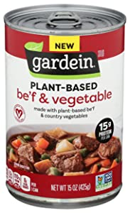 Gardein Plant-Based Be'f and Country Vegetable Soup, 15 oz.