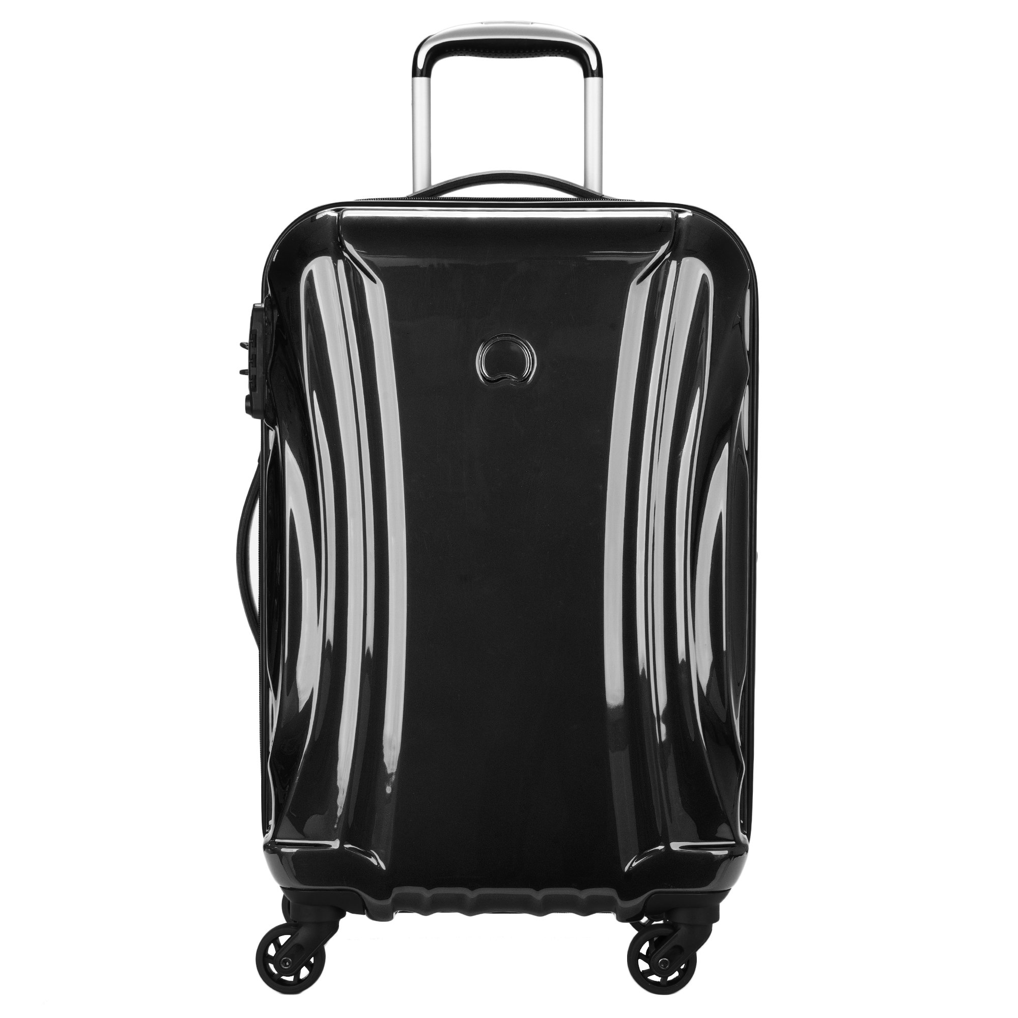 Delsey Luggage Passenger Lite Carry-on Expandable Suitcase, Black