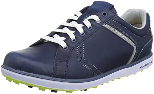 best loved 78181 cacf6 Ashworth Cardiff 2 Adc, Men Golf Shoes, Blue (Dark Denim  White