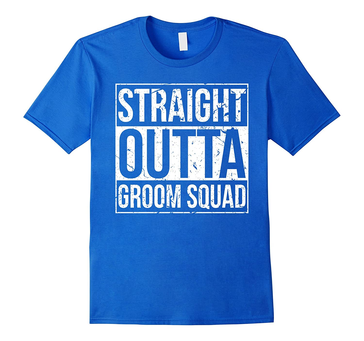 Bachelor Party TShirt: Straight Outta - Groomsmen Shirts-FL