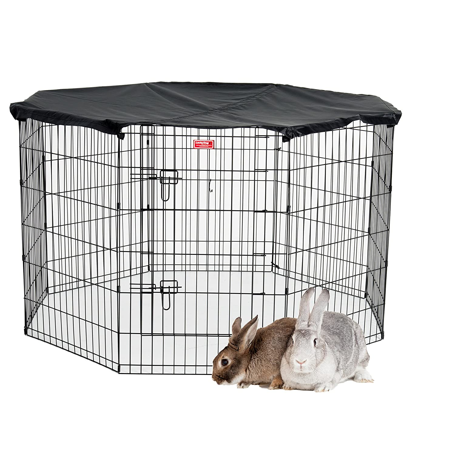 Lucky Dog PET Exercise Pen with Cover