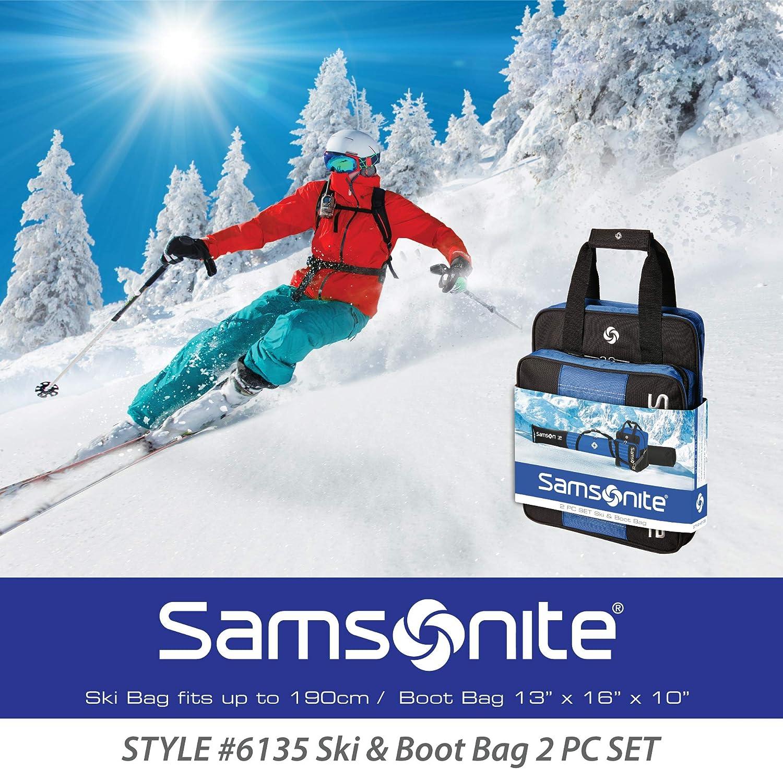 Samsonite Deluxe Ski and Boot Bag //2PC Set