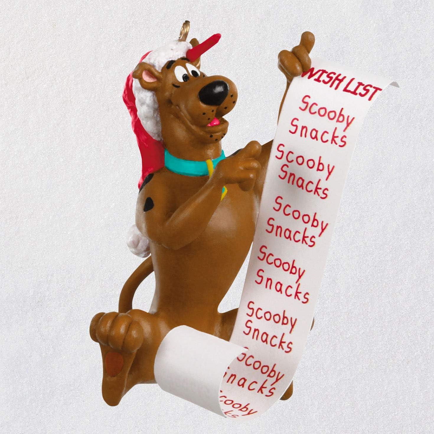 Hallmark Keepsake Ornament 2020 Scooby's 5 popular Washington Mall Christmas L Scooby-Doo