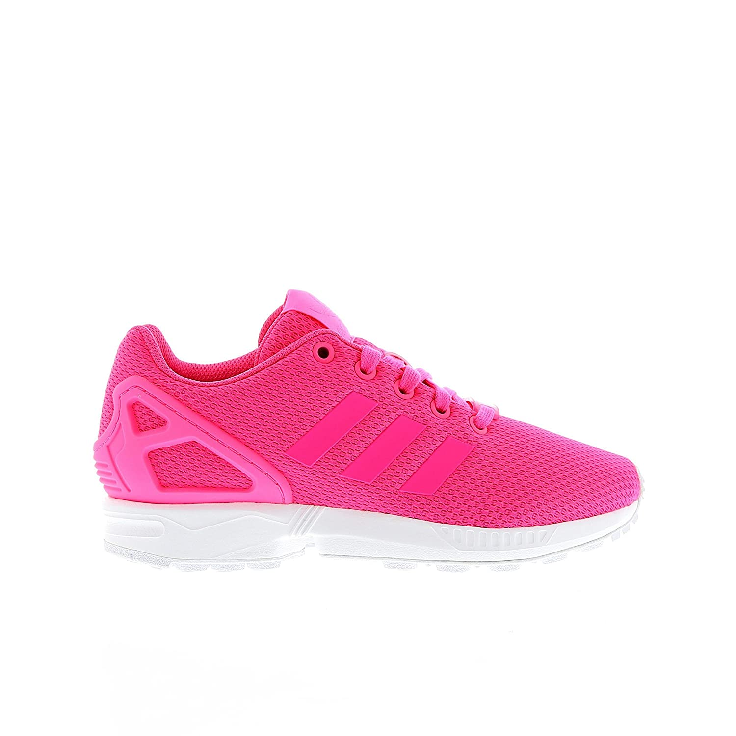 get cheap 44f22 648b0 Junior Girl Adidas ZX Flux Pink Trainers kids Sneakers ...