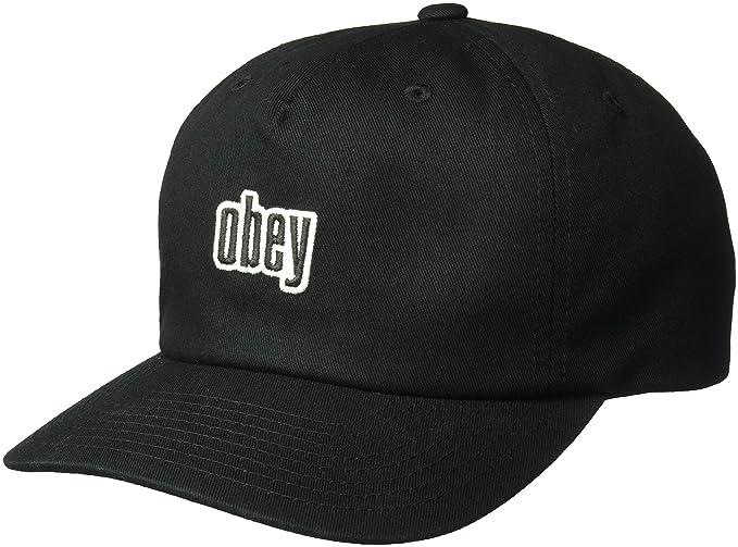 db10ad9ce434a Amazon.com  Obey Men s Highland Strapback HAT