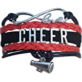Cheer Bracelet- Girls Cheerleading Bracelet- Cheer Jewelry - Perfect Gift For Cheerleader