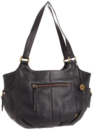 The Sak Kendra Satchel Handbag, Black, One Size  Handbags  Amazon.com c45381aced