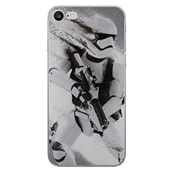 cheaper 5f38e 4972a iPhone 7 Star Wars Silicone Case / Gel Cover for Apple iPhone 7 / Screen  Protector & Cloth / iCHOOSE / Stormtrooper Splatter
