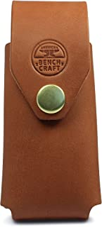 product image for American Bench Craft Leather Sheath for Gerber Gear Multi-Tools, Leather Holster, Case, Holder, Pouch, Sheath ONLY – Gerber MultiTool NOT Included (Gerber Multi-Plier 400 Compact Sport, MP400, Tan)