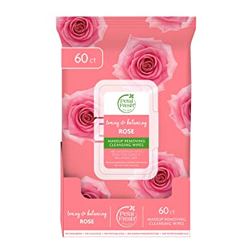 Amazon.com: Petal Fresh Pure Brightening Rose Makeup Removing, Cleansing  Towelettes, Gentle Face Wipes, Daily Cleansing, Vegan and Cruelty Free, 60  count: Beauty