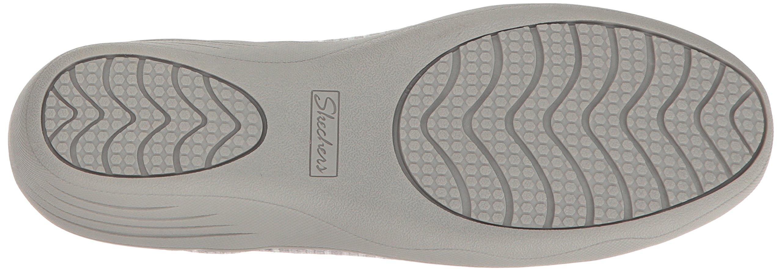 Skechers Women's Kiss-Secret Wedge Pump,Grey,7 M US by Skechers (Image #3)