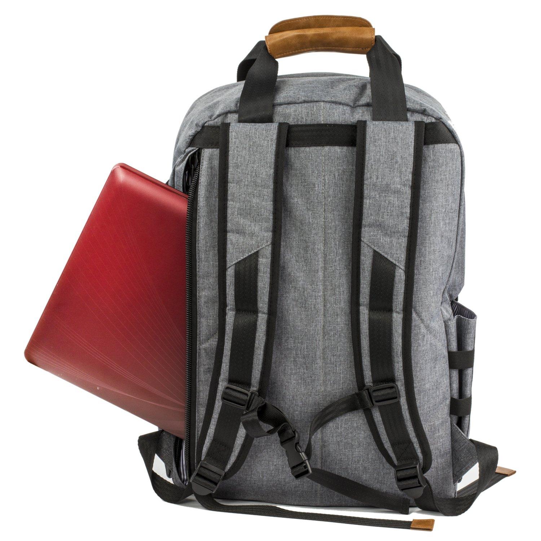 ALLCAMP Backpack 15.6 - Mochila para portátiles de hasta 15.6