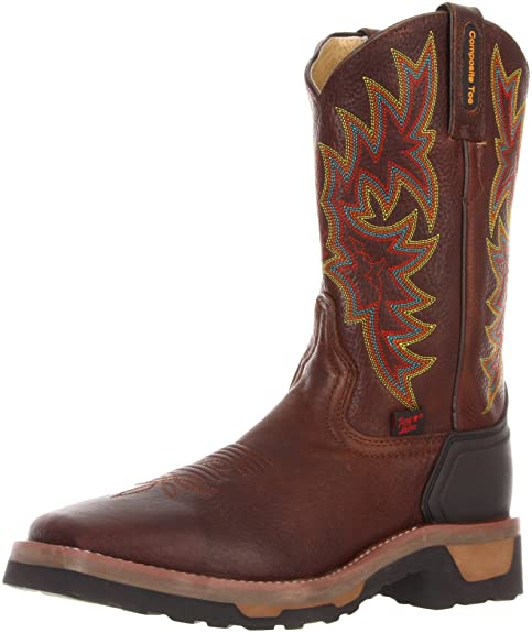 Amazon.com | Tony Lama Boots Mens Comp Toe Work TW1061 Work Boot | Industrial & Construction Boots
