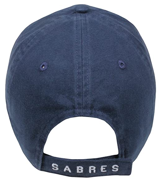 brand new 871bb 6724f Amazon.com   NHL Buffalo Sabres Men s Barnabus Slouch Adjustable Hat, One  Size, Navy   Sports   Outdoors