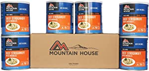 Mountain House Beef Stroganoff #10 Can - 6 Pack