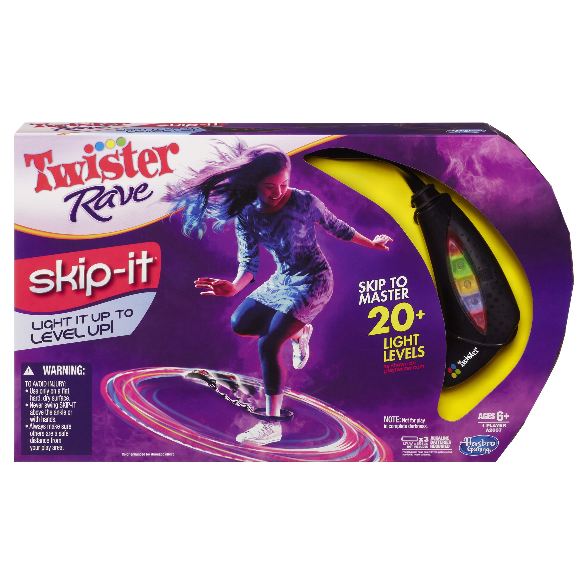 Hasbro Twister Rave Skip It Game by Hasbro (Image #1)