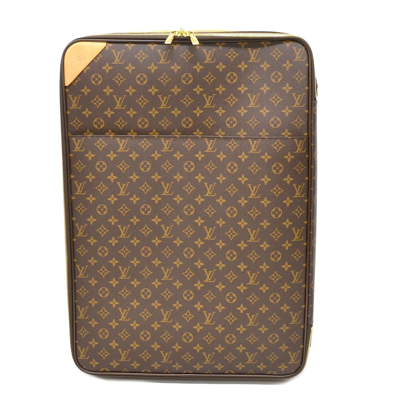 ルイヴィトン LOUIS VUITTON ペガス 65 モノグラム キャリーケース スーツケース トランク 旅行鞄 ブラウン 茶 M23295 中古 B07D5W5VXX