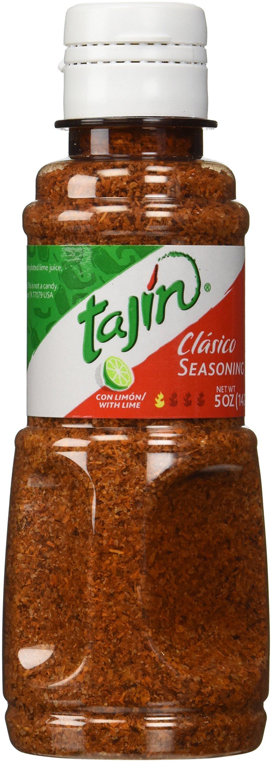 Tajin Clásico Seasoning Chily Powder for Fruits and Veggies, 5 Oz (Pack of 3)