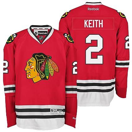 7a3d29f4cb8 Amazon.com : Duncan Keith Jersey: Reebok Red #2 Chicago Blackhawks ...