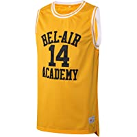 e9f171a7e9d2 MM MASMIG Will Smith 14 The Fresh Prince of Bel Air Academy Basketball  Jersey S-