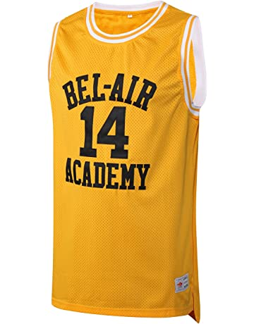 f2df03bbff6 MM MASMIG Will Smith 14 The Fresh Prince of Bel Air Academy Basketball  Jersey S-