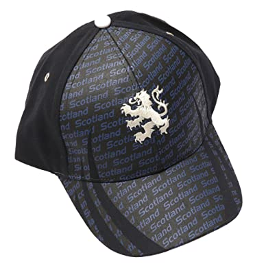 scotland baseball hats rugby cap scottish union lion embroidered one size navy