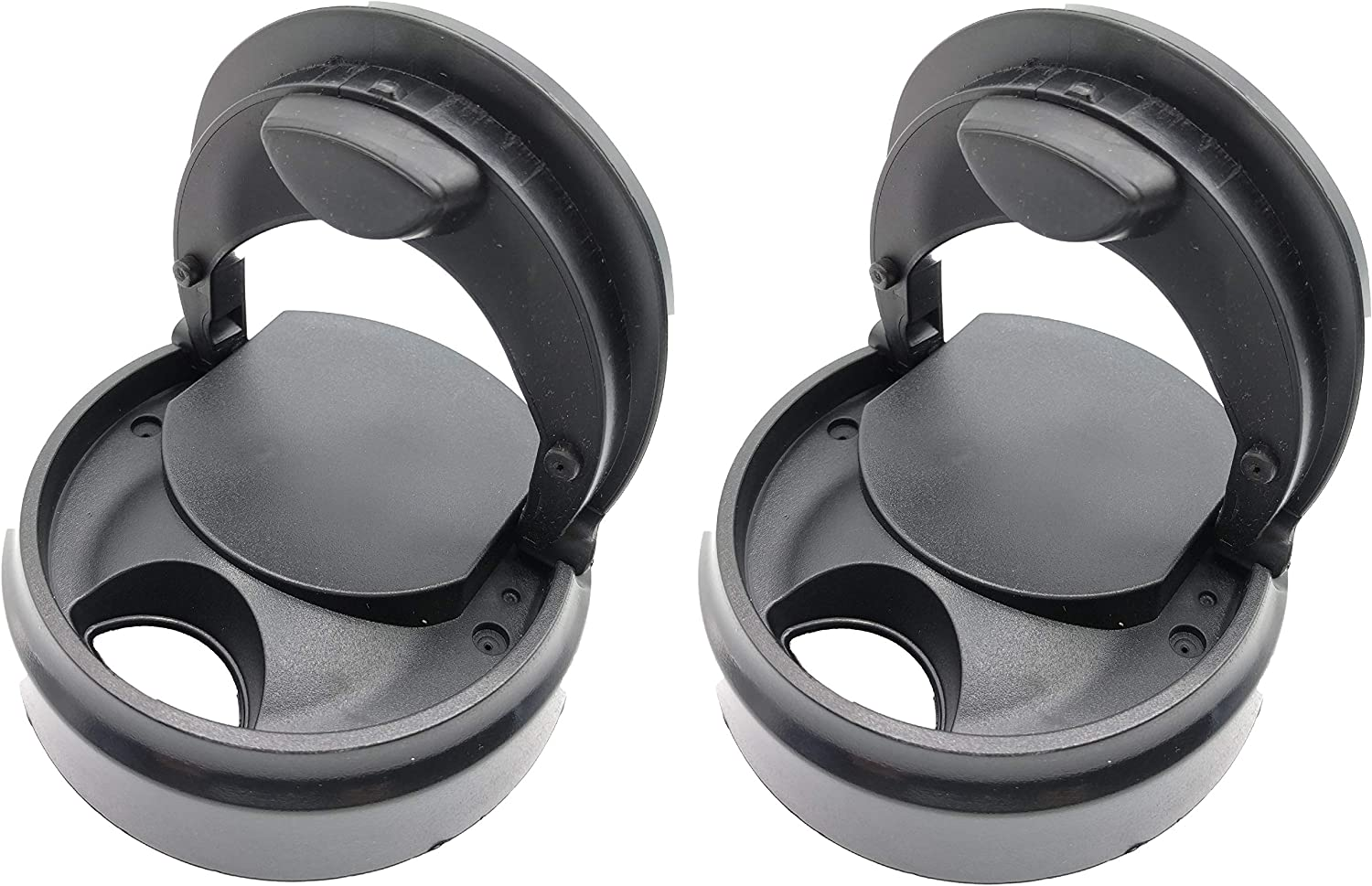 Blendin Replacement Flip Top to Go Lid, Compatible with Magic Bullet MB1001 Blender Jars,Mugs,Cups (2 Pack)