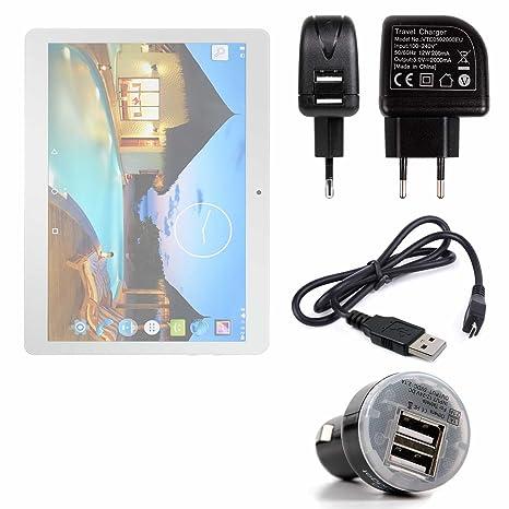 DURAGADGET Pack con Cargadores para La Tablet YUNTAB K107 ...
