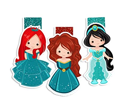 amazon com fairytales and princesses magnetic bookmark planner