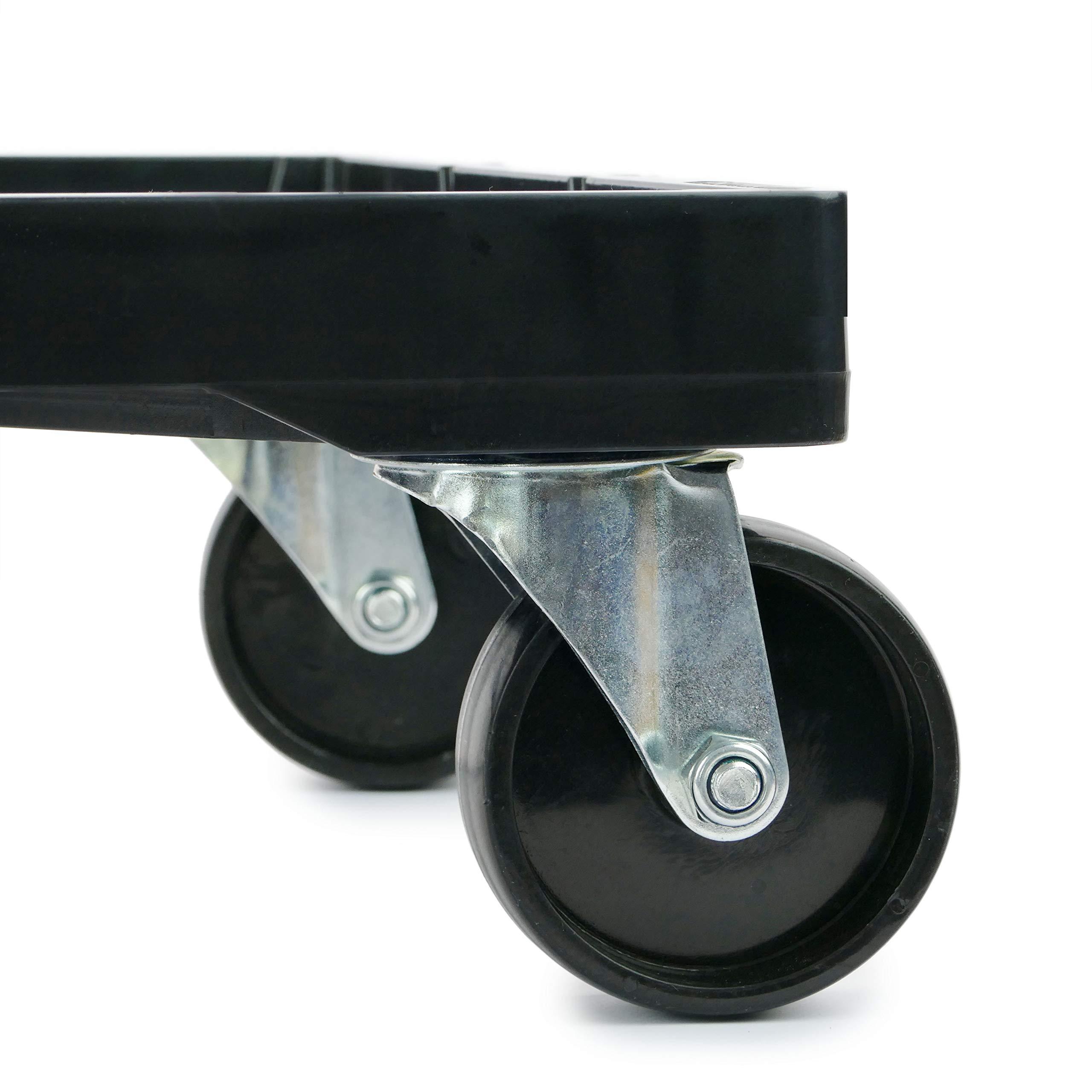 PrimeMatik - Platform with Wheels for Carrying Eurobox Boxes 60 x 40 cm (KA081) by PrimeMatik (Image #2)