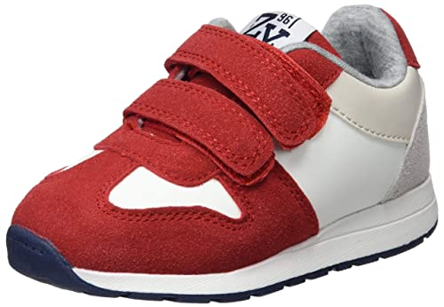 ZIPPY Boys Zapatillas para Niño Slip On Trainers, Red (Scarlet 19/1760tc